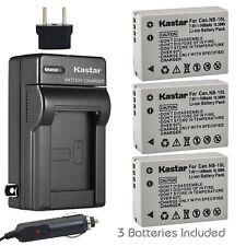 NB-10L Regular Charger & Battery for Canon PowerShot GSX40 HS, SX50 HS, SX60 HS
