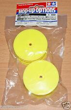 Tamiya 54286 DB01 Piatto Anteriore ruote (giallo fluorescente) (TRF511/TRF503/DB02)