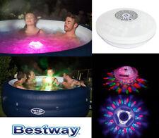 Bestway 58419 Spa Jacuzzi Luz LED Iluminación 7 Licht-Modi Color Pool Lámpara