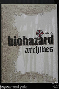 JAPAN Resident Evil Biohazard Archives CAPCOM book rare
