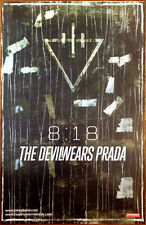 THE DEVIL WEARS PRADA 8:18 Ltd Ed Discontinued RARE Poster +FREE Metal Poster!