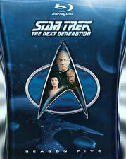 STAR TREK: THE NEXT GENERATION - SEASON 5 NEW REGION B BLU-RAY