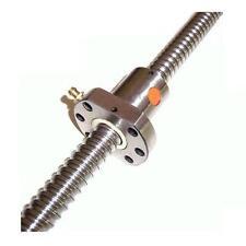 Vis à billes 20mm pas 5mm NU-D2005-1000mm - DIN 69051 précision C7 CNC mini tour