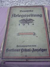gr.Mappe__Kriegszeitung_1914-1917_über 100Stück_origin.