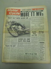 Motor Cycle Newspaper, May 29, 1968, Police Halt Dutch Record Bid.   MCNP 68