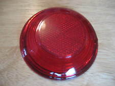 VINTAGE BMW TAIL LIGHT LENS TO FIT THE COFFEE CAN ON /2 REAR FENDERS NO LOGO