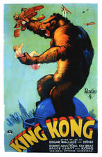 King Kong Fay Wray 1933 cult movie poster item 6