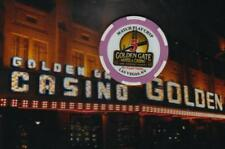 GOLDEN GATE CASINO - NO CASH VALUE GAMING CHIP - LAS VEGAS NV - MATCH PLAY 5