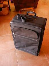 "TUMI 2 Wheel Black Roller Luggage 24"" Short Trip + Extn Bag Carry Strap 22024D4"