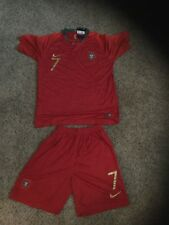 Cristiano Ronaldo Portugal Soccer Jersey and Short set Size AdultX-large