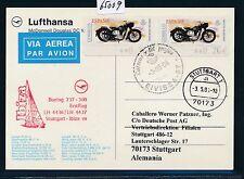 65009) LH FF IBIZA Spagna-Stuttgart 3.5.2004, MEF ATM BIKE SANGLAS