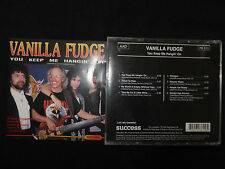 RARE CD VANILLA FUDGE / YOU KEEP ME HANGIN' ON / LIVE RECORDINGS /