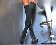 Nuevo Diseñador Lujo Zapatos Mujer Fiesta Club Súper Elegante Plataforma