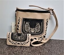 Montana West Concealed Carry Purse Matching Wallet Western Country Crossbody Bag