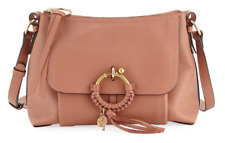4ee5e9827dc62 NWT See by Chloe Small Medium Leather Ring Joan Cheek Leather Satchel Bag  $460