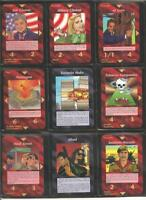 Full 200 Common Set   Illuminati INWO Card Game   New World Order   Nuke