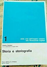 STORIA E STORIOGRAFIA VOL.1 - ANTONIO DESIDERI - D' ANNA