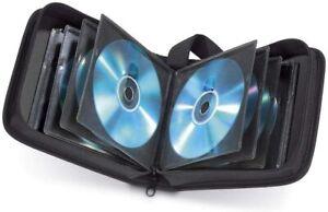Porta CD DVD Blu Ray Raccoglitore da 40 Posti Borsello Nero Hama Custodia Sicura