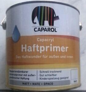 Caparol Haftprimer 2,5L Weiss