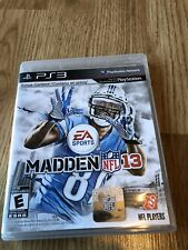 Madden NFL 13 (Sony PlayStation 3, 2012) Ps3 VC4