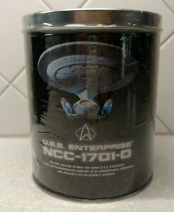 """Vtg 1996 Star Trek The Next Generation Puzzle In Tin -12x34"""" 700 PCS Collectible"""
