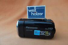 Panasonic hdc-sd40 negro + videocámara Full-HD + AVCHD +16:9+sdxc - card +17x - zoom garantía