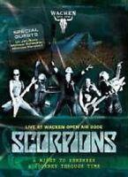 """SCORPIONS """"LIVE AT WACKEN OPEN AIR"""" DVD NEW"""