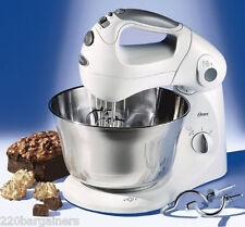 Oster 2601 New 220 Volt Stand Mixer with St Steel Bowl 220v 240v 50Hz