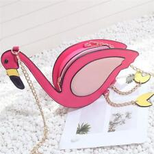 Women Flamingo Shape Handbag Satchel Crossbody Messenger Shoulder Bag Purse