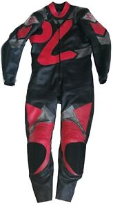 PWR Leathers Custom Motorbike All in one Riding Suite - (No tags or sizes)