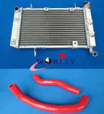 For SUZUKI LTZ400 KFX400 DVX400 03 04 05 06 07 08 Aluminum Radiator + Hose RED