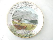 * ASSIETTE PLATE SEPTEMBRE LIMITED EDITION 1979 ROYAL WORCESTER  23.5 cm de Ø