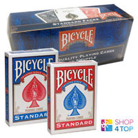 12 DECKS BICYCLE RIDER BACK NO FACE BLANK SPIELKARTEN MAGIE TRICKS ROT UND BLAU