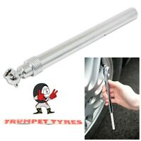 Tyre Pressure Gauge 10 - 130 Psi / 1 - 9 Bar | Angled Head For Easy Access |3858