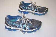 "Asics ""Gel-Cumulus 14"" Gray/Blue Running Shoes. Womens 7.5 M"