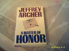 A Matter of Honor by Jeffrey Archer (1986, Hardcover)