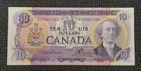 1971 Canada Lawson Bouey BC-49c $10.00 Banknote DZ9801586 Uncirculated