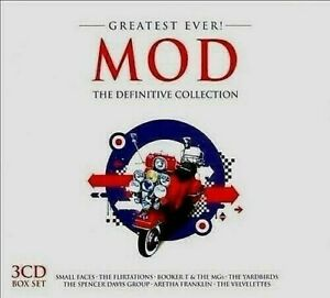NEW  ; VARIOUS: GREATEST EVER MOD. 3 x CD. WILL MAKE TERRIFIC PRESENT. AMAZING.