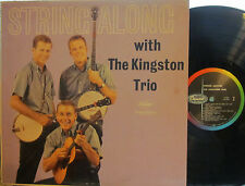 """Kingston Trio - String Along  (Capitol T-1407) (Mono) (with """"The Tattooed Lady"""")"""