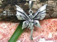 Elfo Colgante para Cadena Collar Plata de Ley 925 Once Hadas Hadas Magie Natural