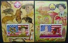 St. Vincent 1986 Pfadfinder Scouts Girl Guides Pilze Funghi Block 31-32 MNH
