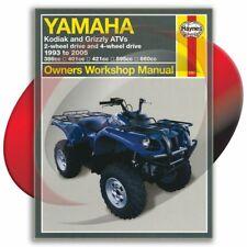 1998-2001 Yamaha Grizzly 600 Haynes Repair Manual 2567 Shop Service Garage