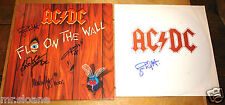 AC/DC FLY ON THE WALL SIGNED LP ANGUS MALCOLM BRIAN SIMON UACC REGISTERED DEALER