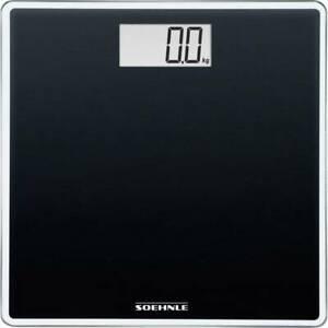 Soehnle Compact 100 Bilancia pesapersone digitale Portata max.=180 kg Nero 63850