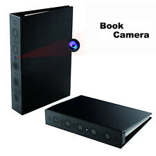 1080P Spy HD Book Camera Home Security Night Vision Motion Activated Hidden DVR