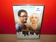 2 Days in New York  (DVD, 2012, Widescreen)  Brand New! FREE SHIPPING!