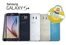 Samsung Galaxy S6 (Unlocked) G920F - Android Smartphone All Grades & Colours