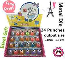 24 Metal Die Punch Cutter Paper Craft Fai da Te Scrapbook STICKER POST CARD