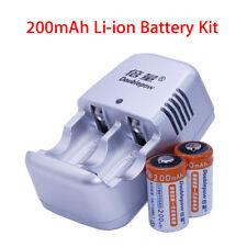CR2 Charger For 3V lithium lion Rechargeable 3V Laser Camera Battery Charger set