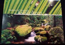 Nature of Australia Rainforests - Australian stamp pack orchid frog sunbird